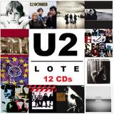 U2   The Studio Albums [lote 12 Cds] Boy Joshua October Pop